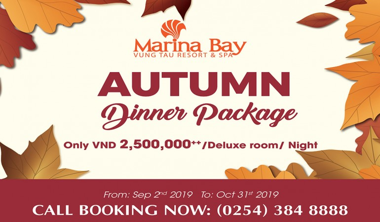 AUTUMN DINNER PACKAGE