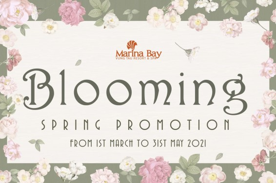 BLOOMING SPRING PROMOTION